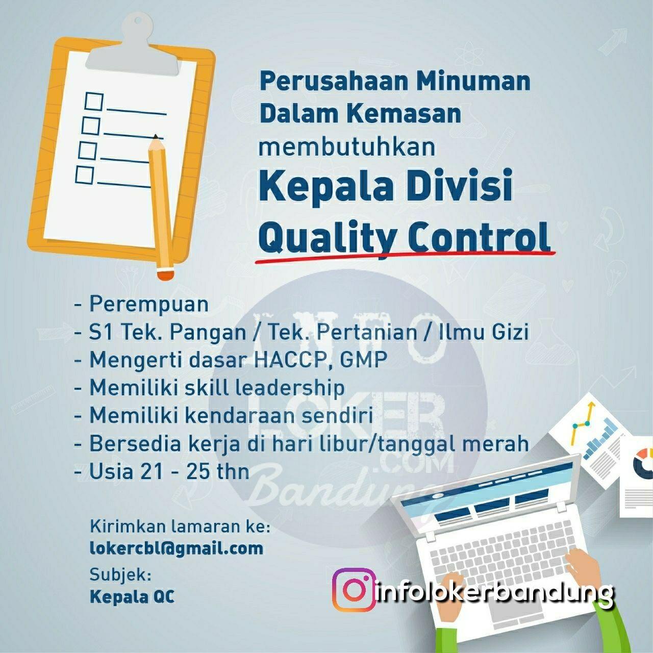 Lowongan Kerja Qc Surabaya