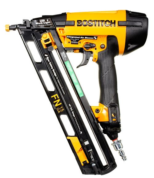 Bostitch N62fmb 15 Gauge Finish Nailer 180 Finish Nailer Nailer It Is Finished