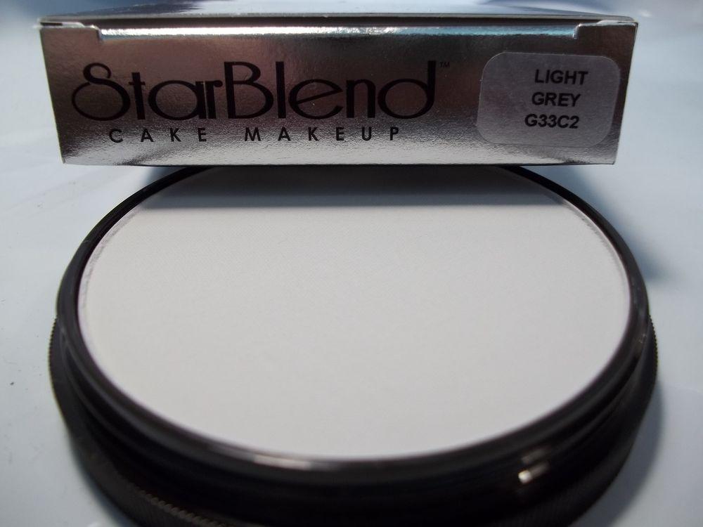 Mehron Light Grey Star Blend Cake Pancake Water Base Makeup Professional Usa Professional Makeup Makeup Base Mehron