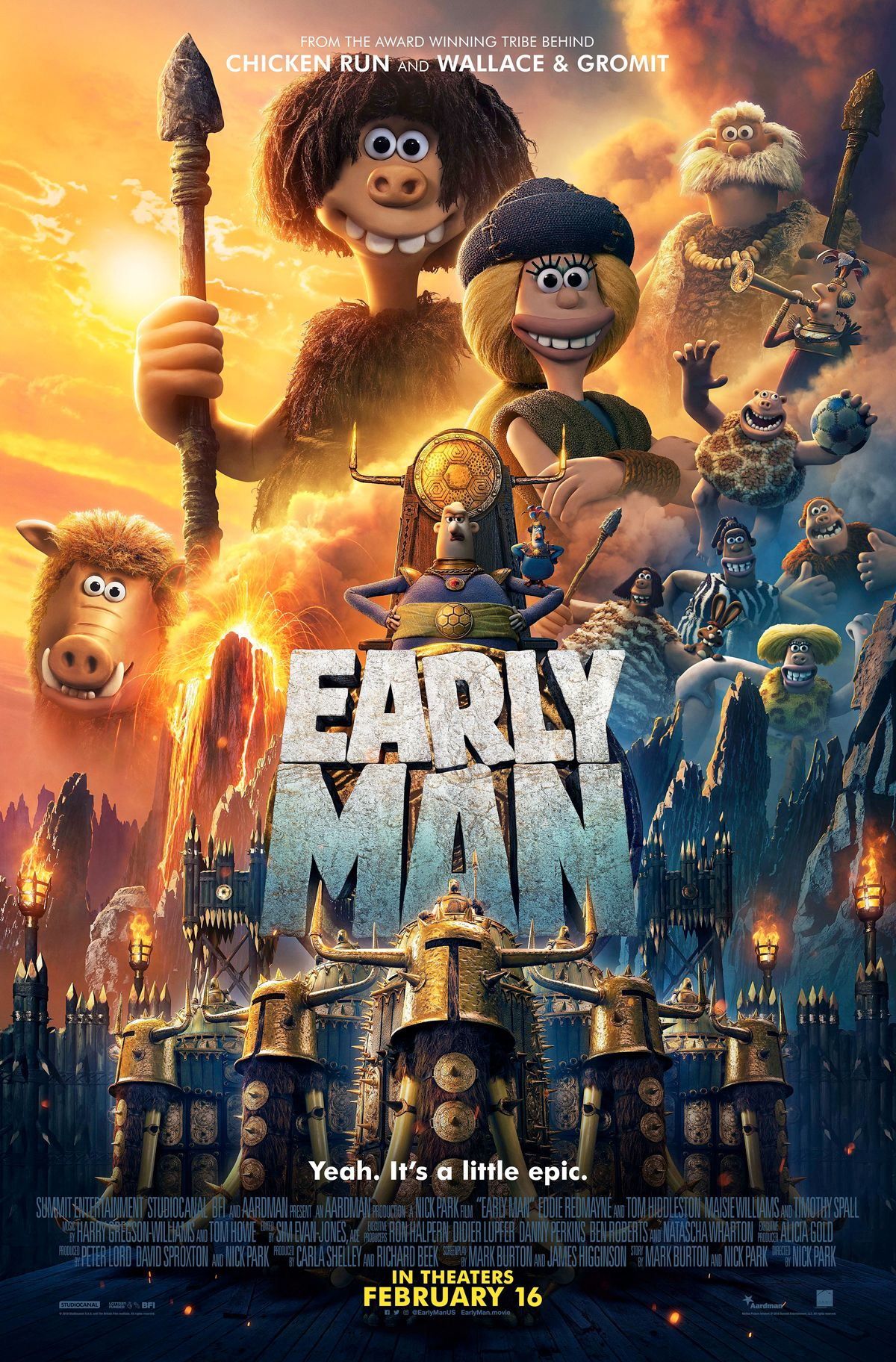 EARLY MAN In theaters February 16, 2018 Latina, Inglese