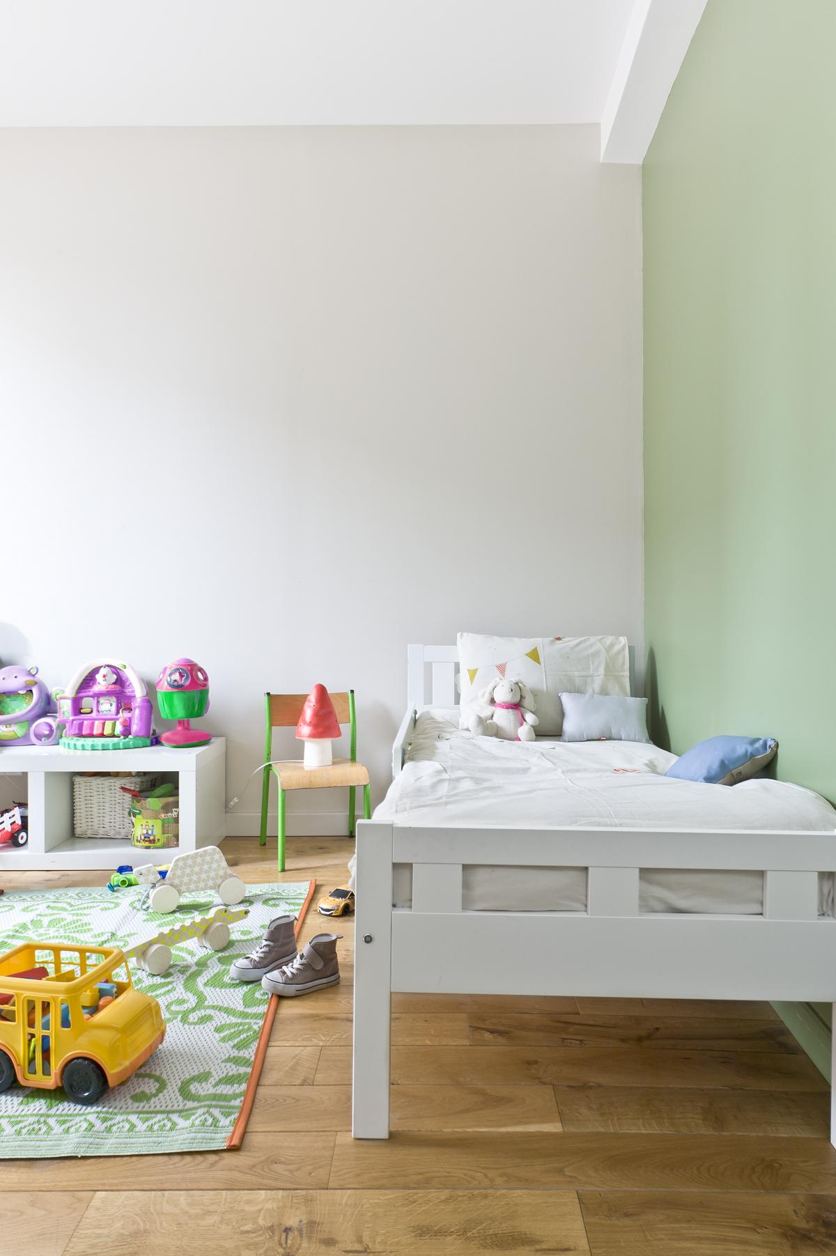 Un Joli Vert D Eau Pour Cette Chambre D Enfant Ripolin