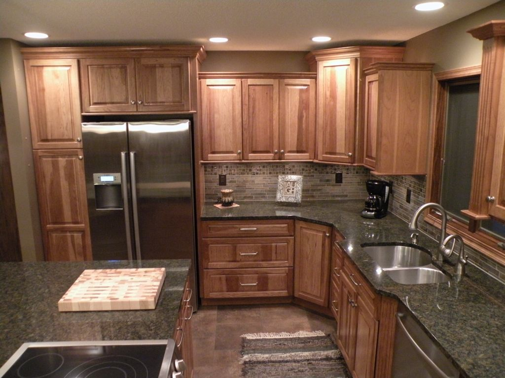 Kraftmaid Hickory Sunset Marquette Cabinetry! | Kitchens ...