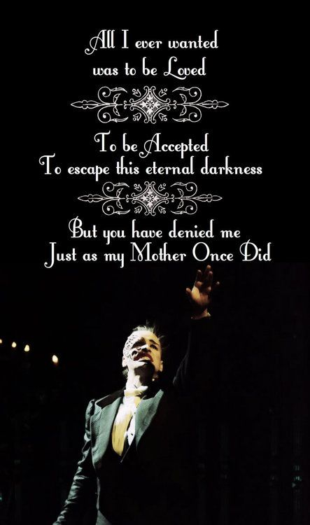 Lyrics Learn To Be Lonely Phantom Of The Opera With Images
