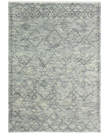 Bb Rugs Natural Wool Nat 8 Gray 3 6 X 5 6 Area Rug Gray