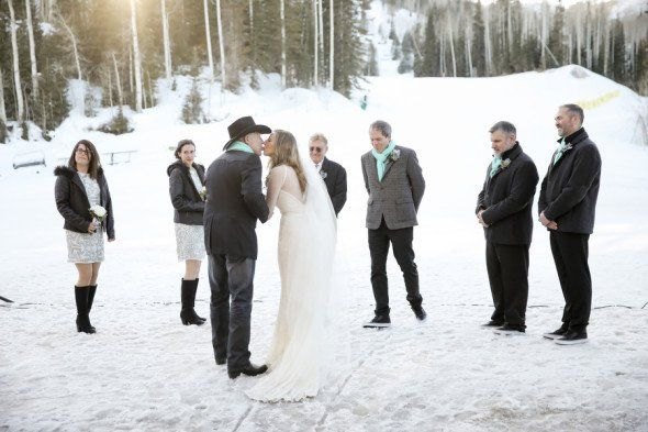 Park City Utah Winter Mountain Wedding - Rustic Wedding ...