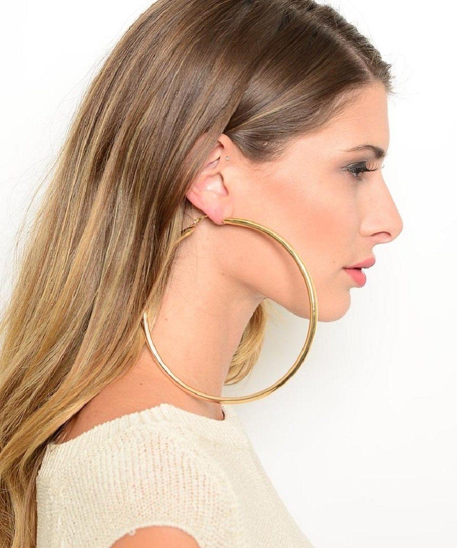 huge hoop earrings - Google Search | Earrings | Earrings ...