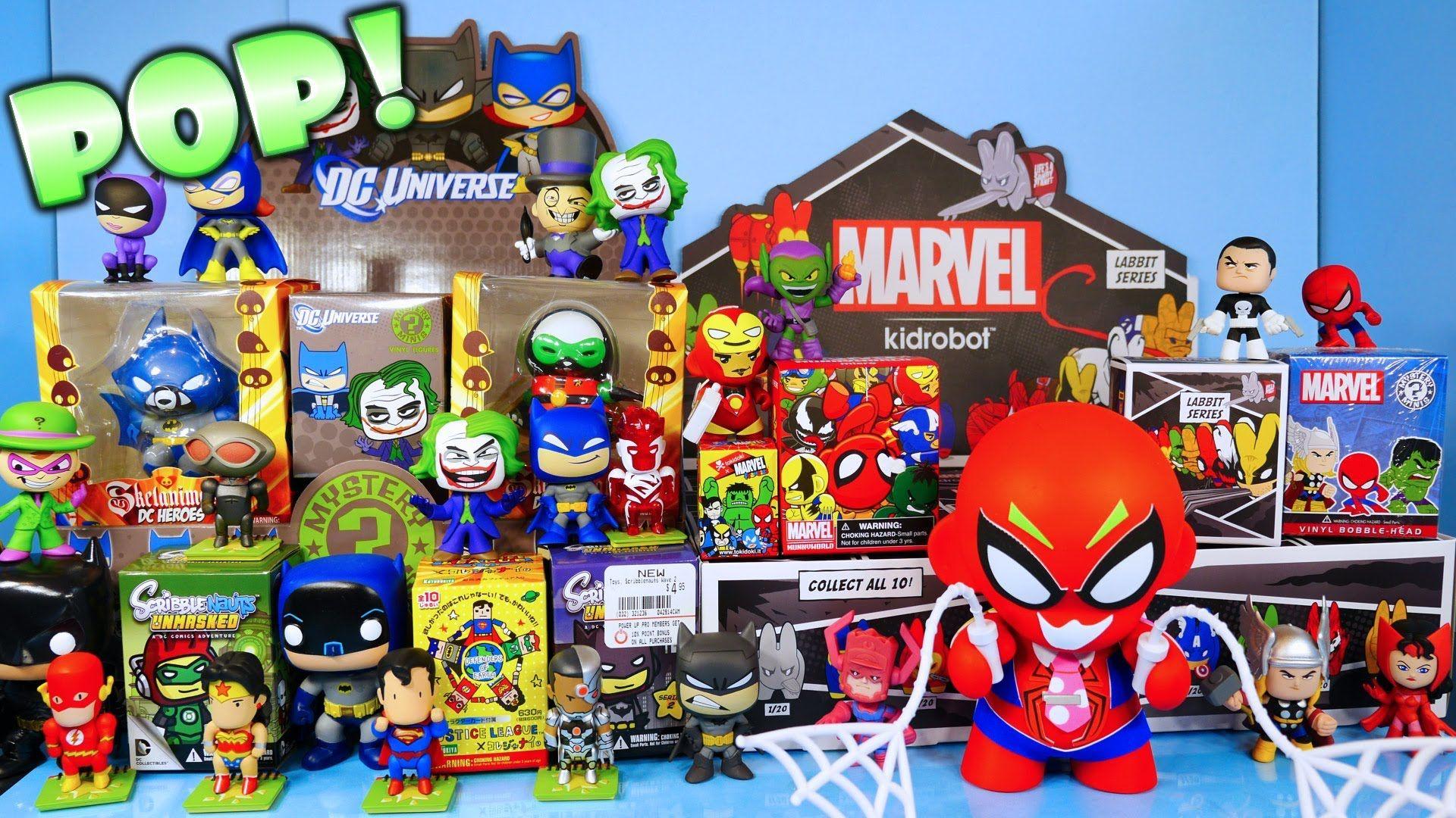 B toys cars  DC Vs Marvel Superhero Toys Showdown Super Blind Box Unboxing