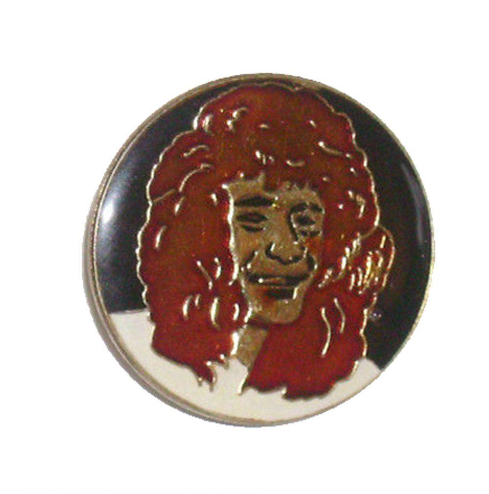 VAN HALEN band heavy metal vintage enamel pin button 1984 david lee roth eddie eruption