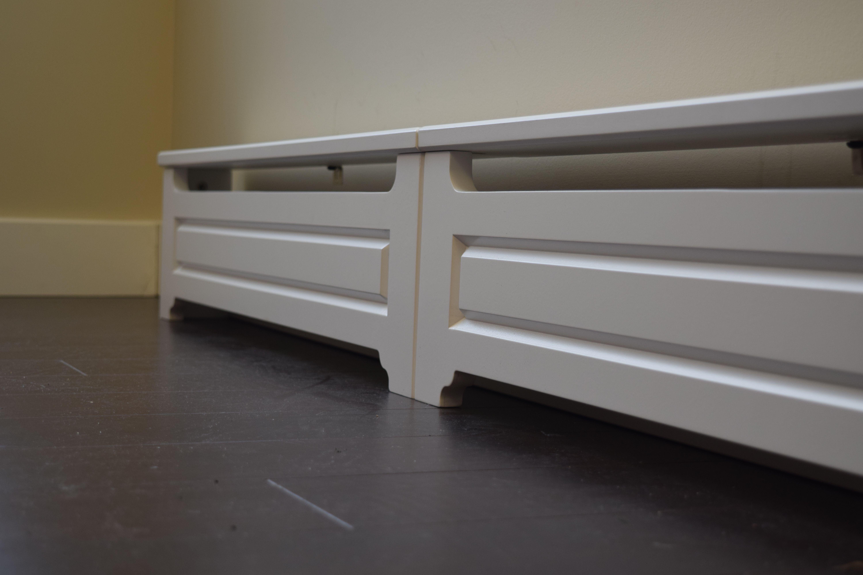 Custom Baseboard Heater Cover