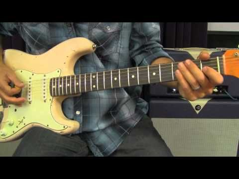 Hendrix Style Rhythm Riffs To Improve Major Pentatonic Solo