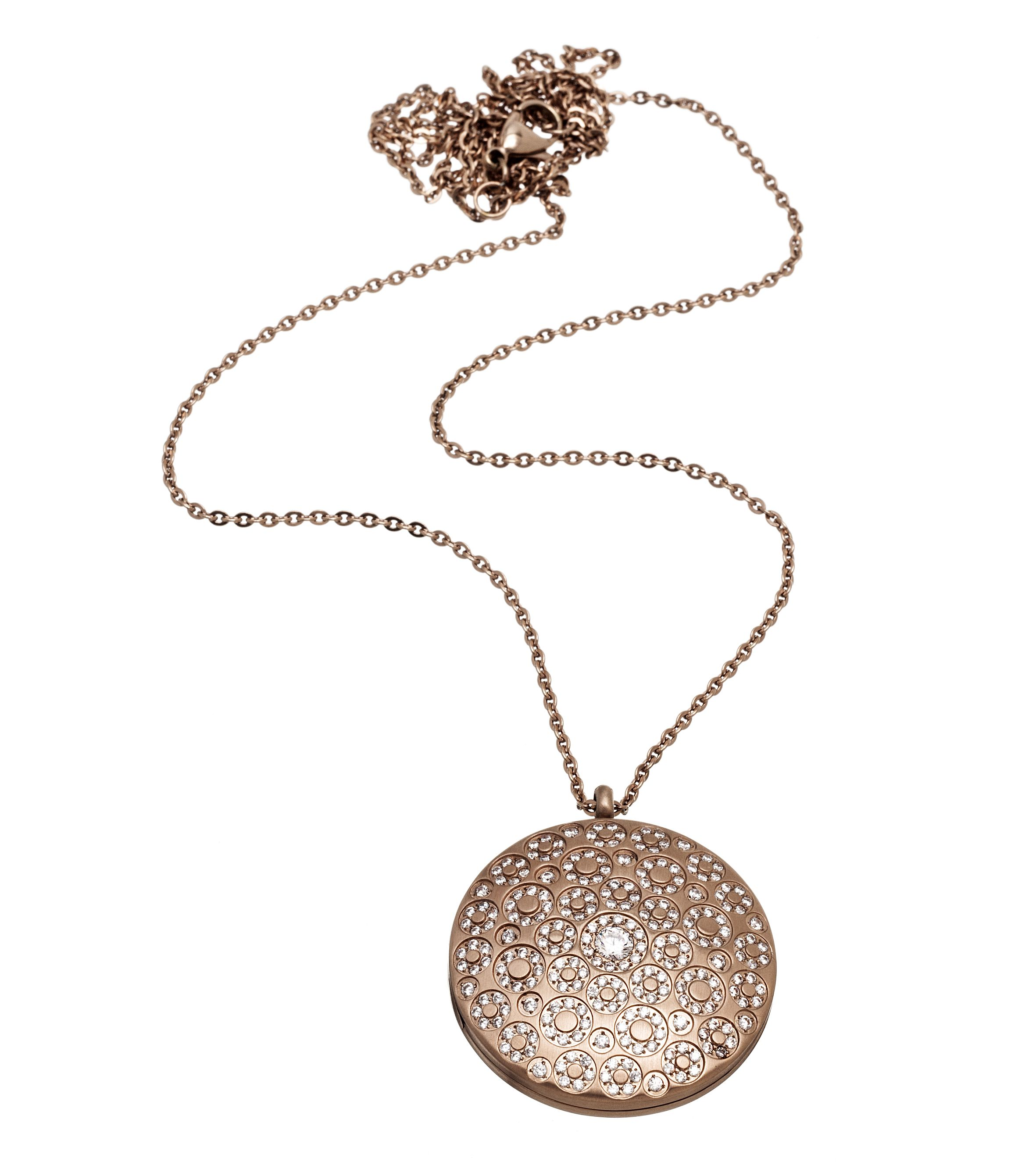 Long rose gold necklace by Edblad PS Costume Jewellery Watches