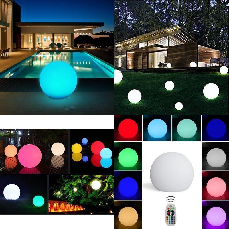 christmas lights decor led ball lightning garden cordless waterproof nightlights andota allfunctionsarecontrolledbyremotecontrol