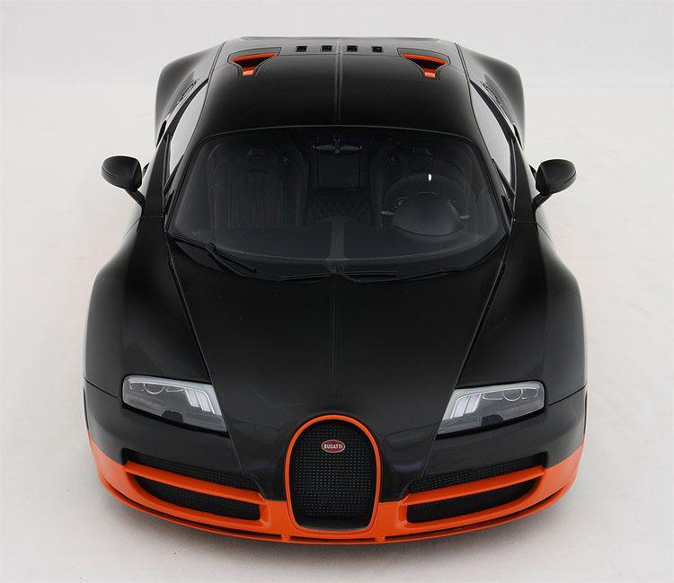 Autoart 1 18 Bugatti Veyron Super Sport Carbon Black: Bugatti Veyron 16.4 Super Sport 1:8 Scale Model By Amalgam