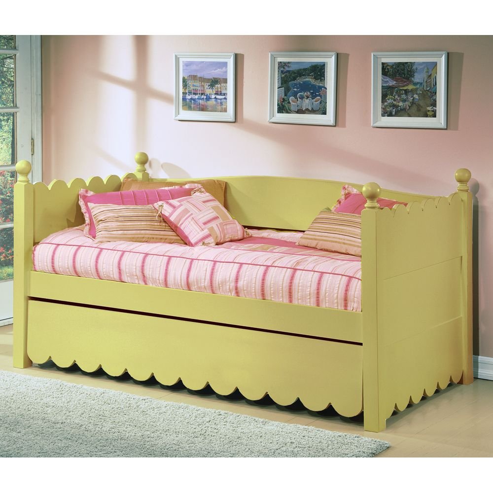 Ballyshannon Twin Bed with Pop Up Trundle Bedroom Wood Beds