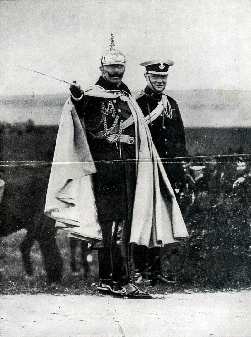 WITH THE KAISER'S ARMY IN 1914