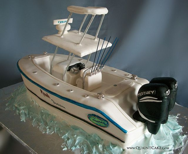 Best 25 boat cake ideas on pinterest boat birthday for 13 fishing a3