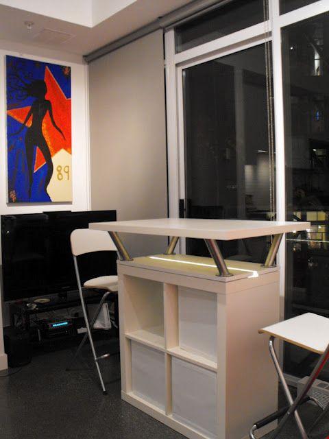 expedit mobile island | ikea, mobile kitchen island, diy