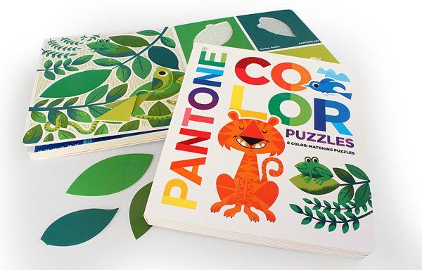 PANTONE Color Puzzles on Behance | Presents | Color puzzle