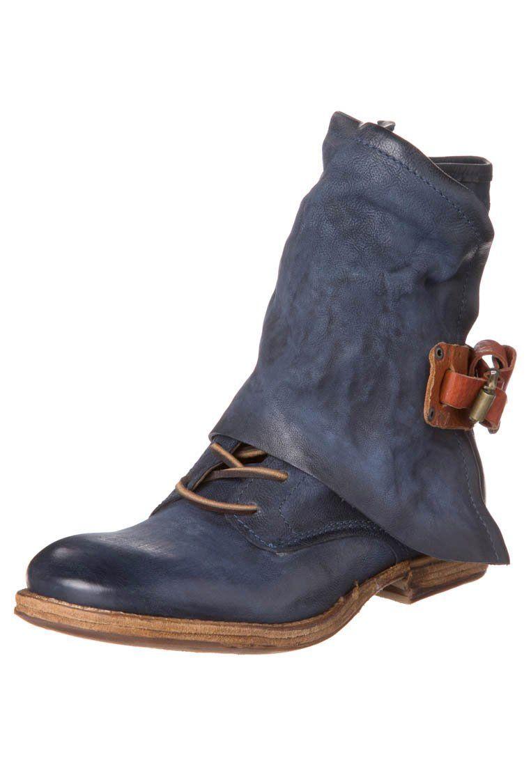 AirStep - Cowboylaarsjes / Motorlaarsjes - Blauw