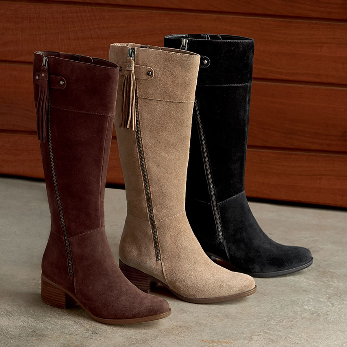 Power up in the tall DEMI boot.  naturalizer f4c22b5e4