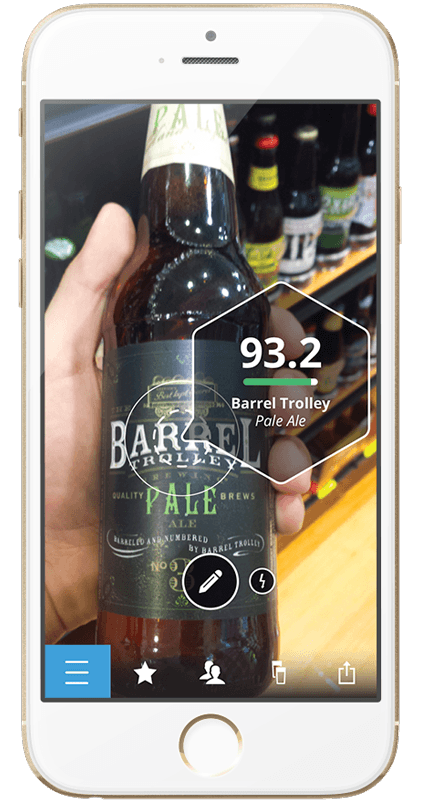 download the next glass app. personalized