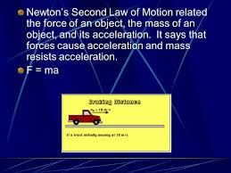 Pin On Newton S Second Law
