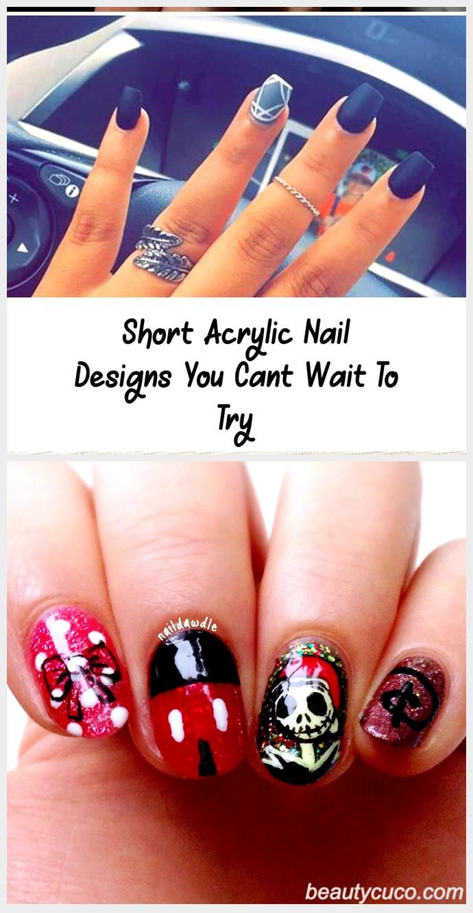Photo of Short Acrylic Nail Designs You Cant Wait To Try – Nail Designs