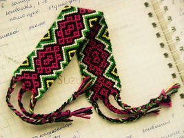 Unbelievable knotted bracelets! -at deviantART