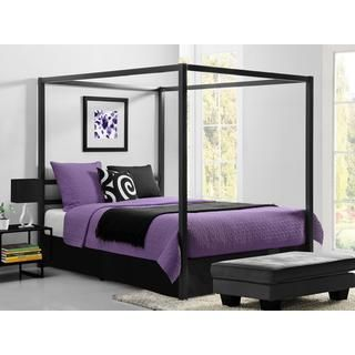 A Classic Design Reinvented, Simplicity And Style Combined Are The  Hallmarks Of The DHP Modern Canopy Metal Bed. Its Sleek Square Lines  Finished In A Rich ...