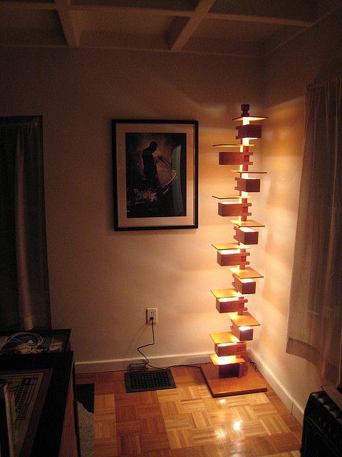 Taliesin 2 Lamp Unique Floor Lamps