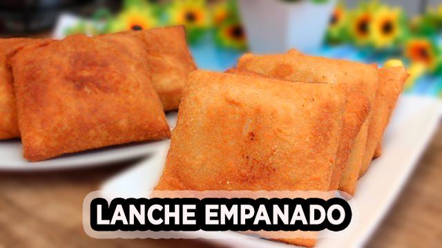 LANCHE EMPANADO, SUPER FACIL