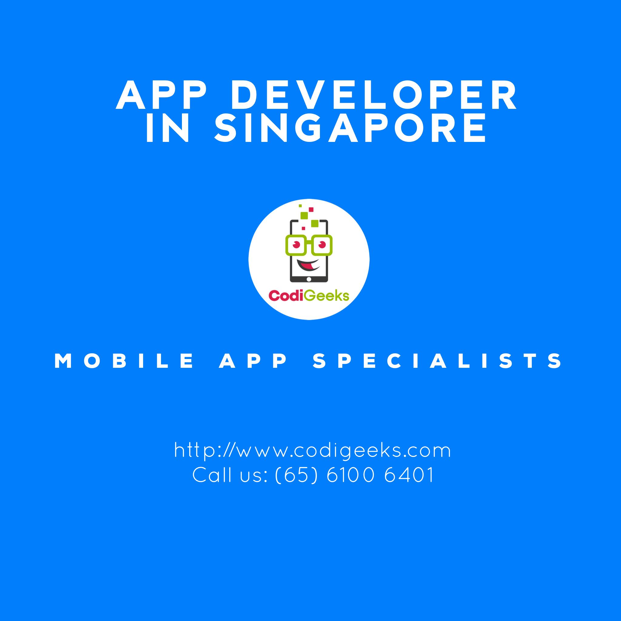 App Developer Singapore 🇸🇬 app appdeveloper apps