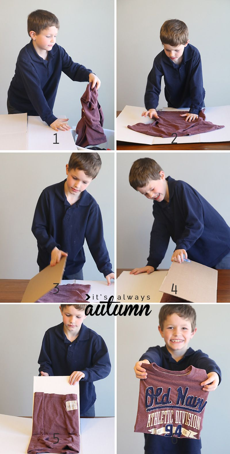 Teach Kids To Fold Laundry With This Simple Hack Teaching Kids