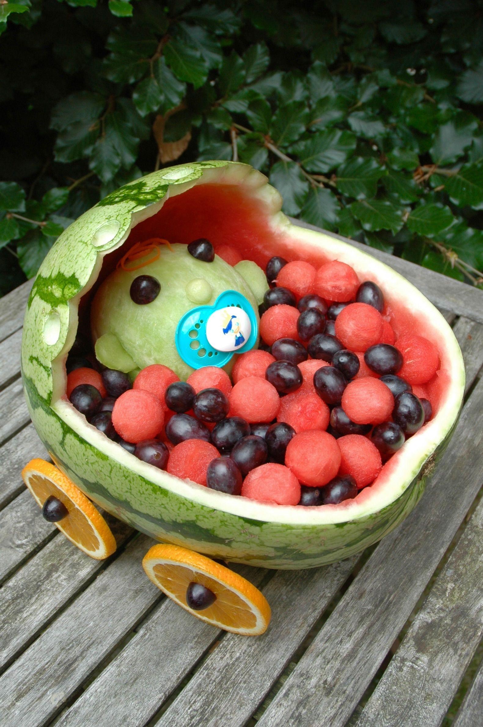 Vandmelonbaby :) • PlantePusherne - vegansk mad