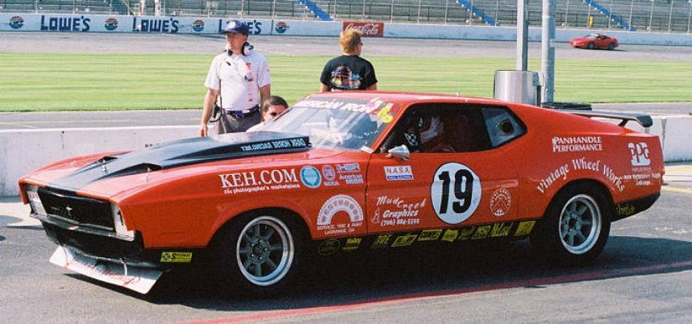 1971 Ford Mustang Mach 1 Race Car Large Picture Page