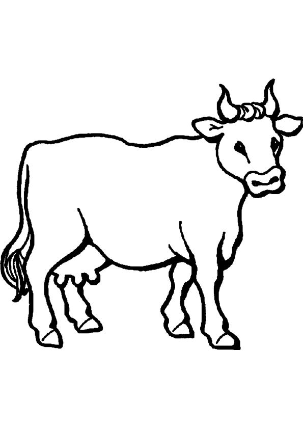 Dibujos De Bueyes Con Carreta Buscar Con Google Animal Coloring Pages Farm Animal Coloring Pages Cow Coloring Pages