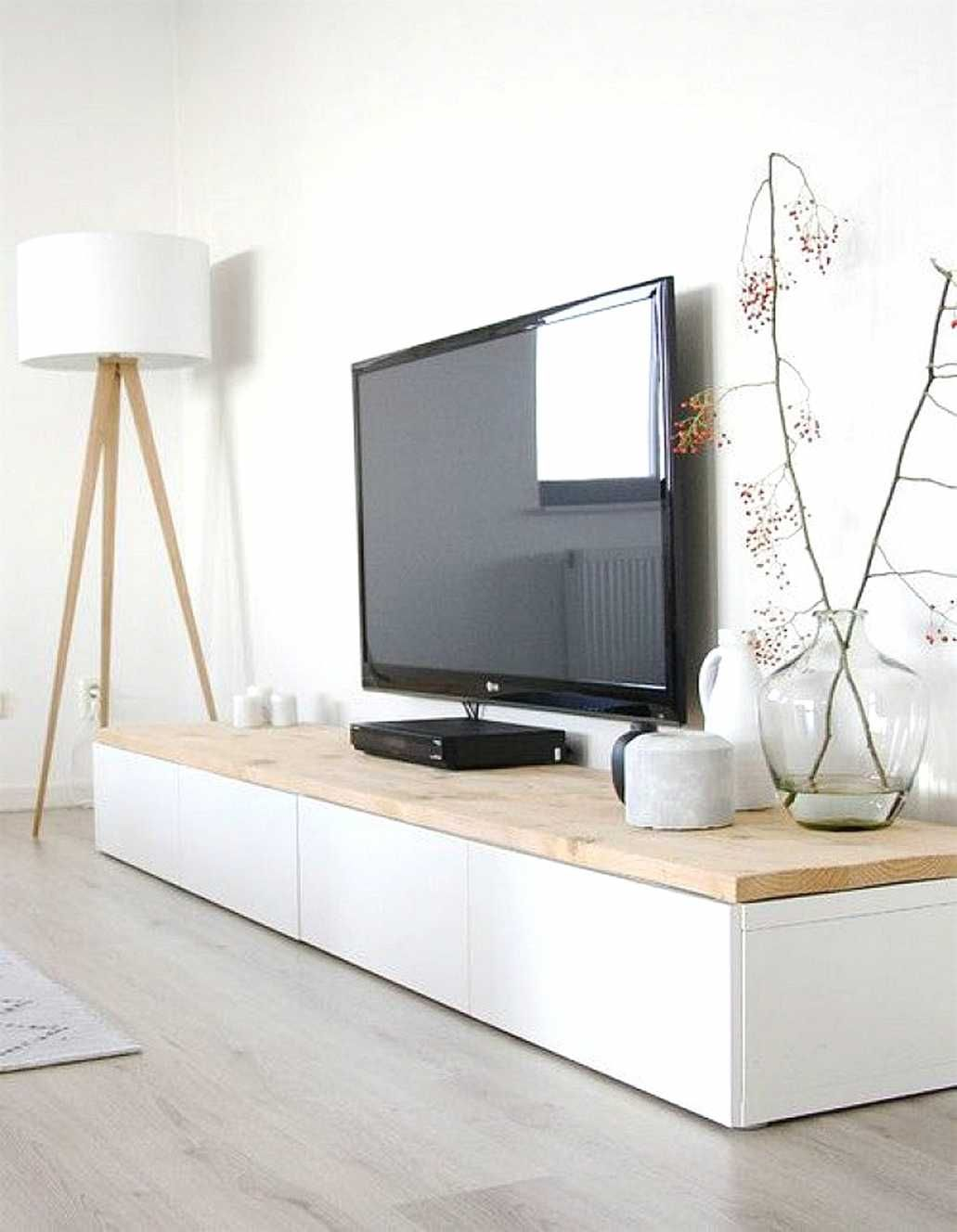 Meuble Tv Besta Ikea Blanc