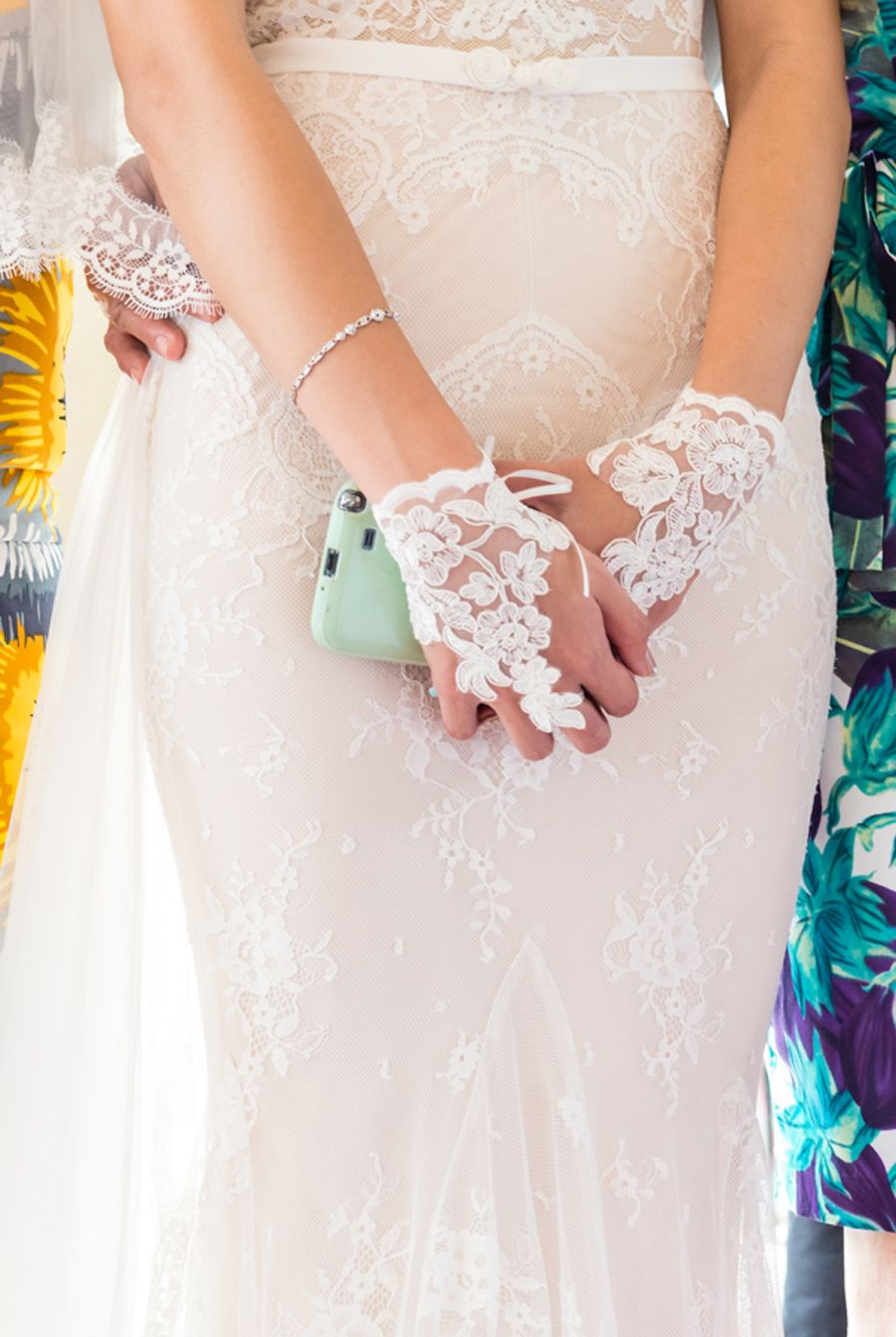 Bridal Accessories Lace Gloves Wedding Dress By Inbal Dror A Vibrant Singapore At Marina Barrage