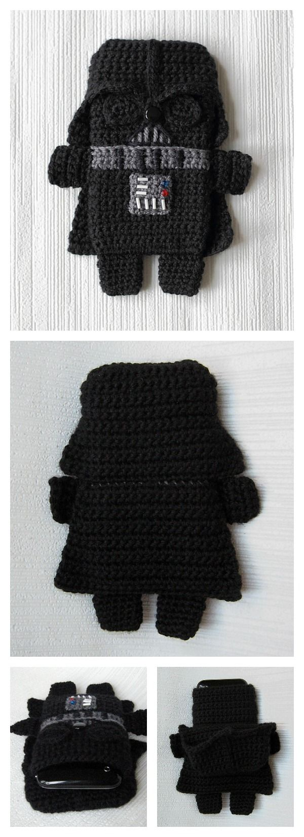 Star Wars Phone Case Crochet Patterns Rund Um Die Wolle