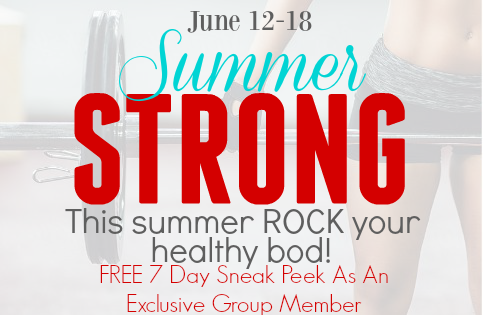 Summer Strong FREE 7 Day EXCLUSIVE MEMBER TRIAL Shaun