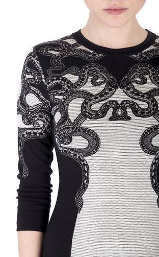 Short Dress - ROBERTO CAVALLI - 75% Wool, 25% Viscose