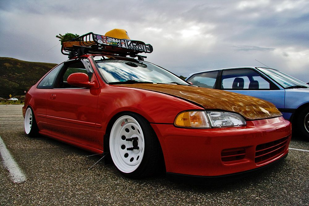 Honda Civic | Rat cars | Jdm cars, Honda crx, Honda civic