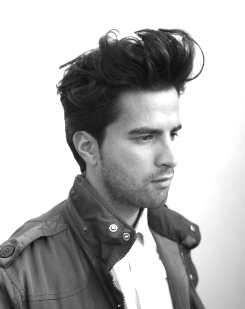 modern greaser hairstyle posses