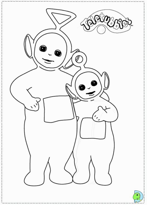 Teletubbies Coloring Page | Coloring Pages | Pinterest