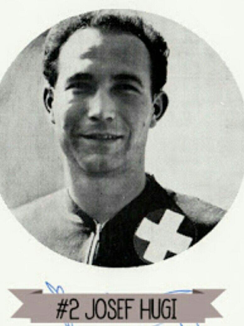 Josef Hugi of Switzerland at the 1954 World Cup Finals