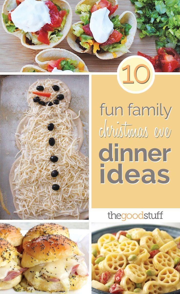 10 KidFriendly Christmas Eve Dinner Ideas Christmas