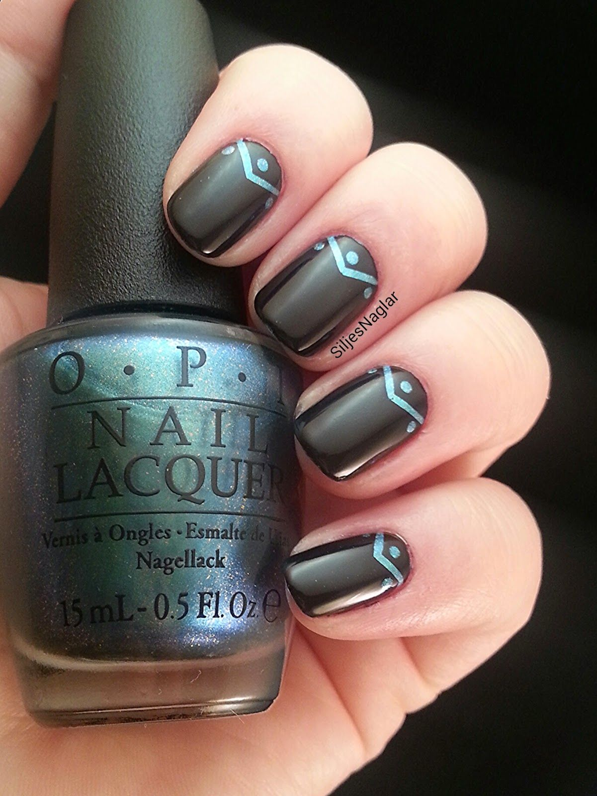 OPI - This color\'s making waves and OPI - Lincoln park after dark ...
