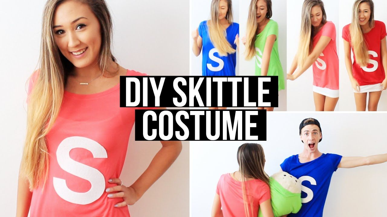 07c671656 Easy DIY Group Costume  Skittles!