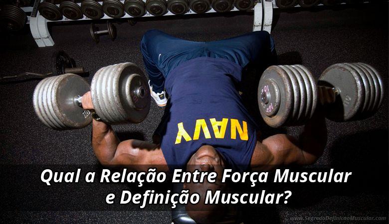 Qual a Relação Entre Força Muscular e Definição Muscular?  ➡ https://segredodefinicaomuscular.com/qual-a-relacao-entre-forca-muscular-e-definicao-muscular/  Se gostar do artigo compartilhe com seus amigos :)  #EstiloDeVidaFitness #ComoDefinirCorpo #SegredoDefiniçãoMuscular