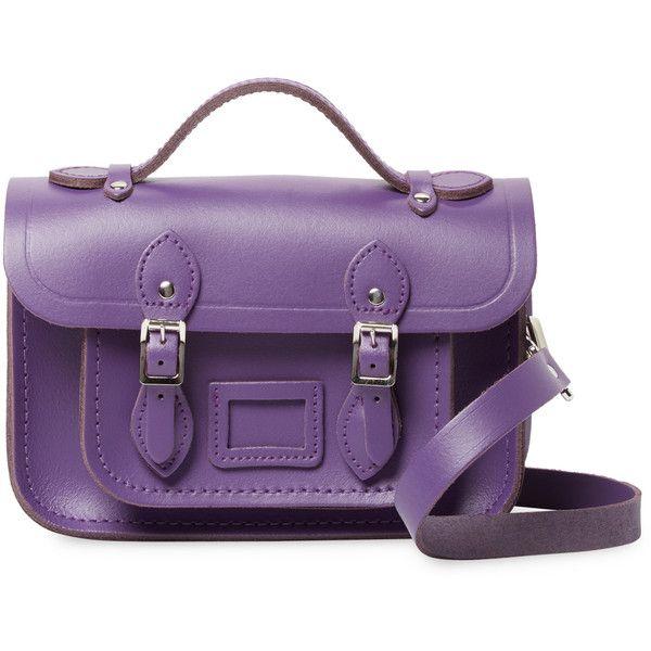 The Cambridge Satchel Company Women s Mini Satchel Bag - Purple ( 109) ❤  liked on Polyvore featuring bags 35659d216